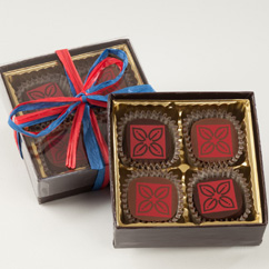 4 Pc Truffle Box