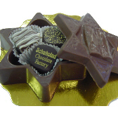 Star of David Box filled with Truffles