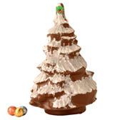 10 inch Hollow Decorated Christmas Tree