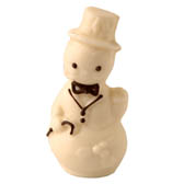 3-D Solid Snowman - 4 inches