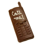 Chocolate Cellphone - Flat
