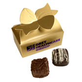 2-pc Truffle Box with Custom Logo Box