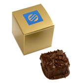 1-pc Truffle Box with Custom Logo Box