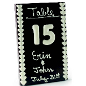 Large Table Setting with Table Numbers