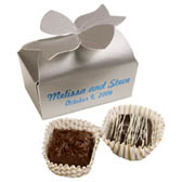 2-pc Truffle Box with Custom Message