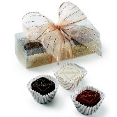 3-pc Truffle Box with Hand Made Bow