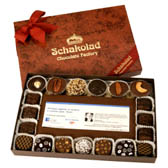 1 Lb. Assortment Box with Custom Greeting Bar Logo