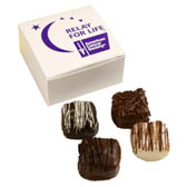 4-Pc Logo Box with Assorted Chocolates